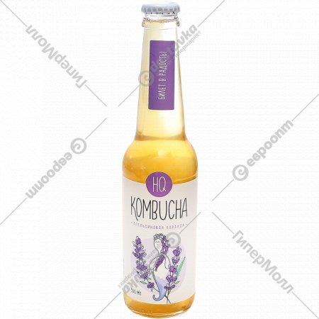 Напиток безалкогольный «Kombucha» апельсиновая лаванда, 330 мл.