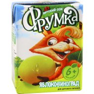 Сок «Фрумка» яблочно-виноградный, 200 мл.