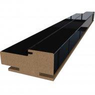 Коробка «ProfilDoors» L, Черный люкс, 244х7х3.3 см
