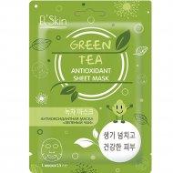 Антиоксидантная маска «Elskin» зеленый чай, 15 г.