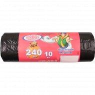 Пакеты для мусора «Властелин мешков» особо прочные 240 л, 10 шт.