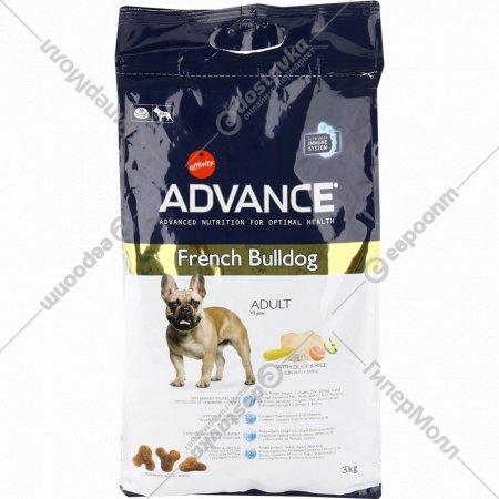 Сухой корм «Advance» для французких бульдогов, 3 кг.