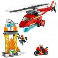 Конструктор «LEGO» City Fire, Спасательный пожарный вертолёт