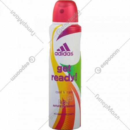 Дезодорант-антиперcпирант «Adidas» Cool & Care get ready!, 150 мл.