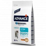 Сухой корм «Advance» для котят от 2 до 12 месяцев, 10 кг.
