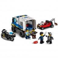 Конструктор «LEGO» City Police, Транспорт для перевозки преступников