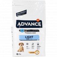 Сухой корм для собак «Advance» контроль веса, 3 кг.