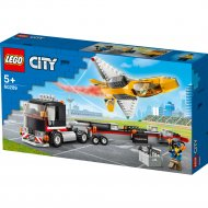 Конструктор «LEGO» City Great, Транспортировка самолёта на авиашоу