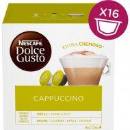 Кофе жареный молотый «Nescafe Dolce Gusto» cappuccino, 16 шт, 186.4 г.