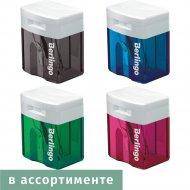 Точилка пластиковая «Berlingo» в ассортименте.
