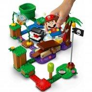 Конструктор «LEGO» Super Mario, Кусалкин на цепи, встреча в джунглях