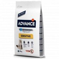 Сухой корм «Advance» для кошек с чувствительным пищеварением, 10 кг.