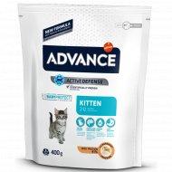 Сухой корм «Advance» для котят от 2 до 12 месяцев, 0.4 кг.