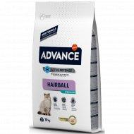 Сухой корм «Advance» вывод шерсти у стерилизованных кошек, 10 кг.