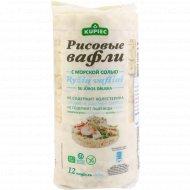 Рисовые вафли «Kupiec» с морской солью, 120 г