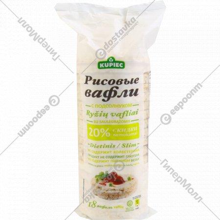 Рисовые вафли «Kupiec» 84 г.