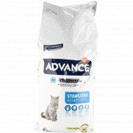 Сухой корм для стерилизованных кошек «Advance» индейка, 15 кг.