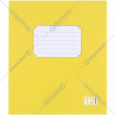 Тетрадь для записей «HanzKoger» линейка, 12 листов.