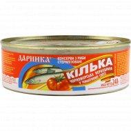 Рыба «Килька» черноморская в томатном соусе, 240 г.