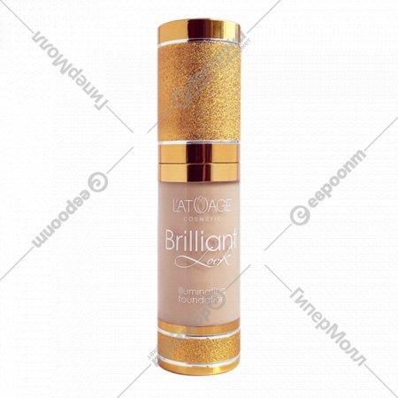 Тональный крем «Brilliant Look» тон 302, 20 г.