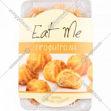 Сладости мучные профитроли «Eat Me» с вареной сгущенкой 225 г.