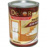 Эмаль «Dekor» для пола, желто-коричневый, 1.8 кг