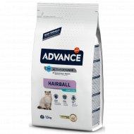 Сухой корм «Advance» вывод шерсти у стерилизованных кошек, 1.5 кг.