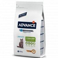 Сухой корм «Advance» для стерилизованных кошек до 3 лет, 1.5 кг.