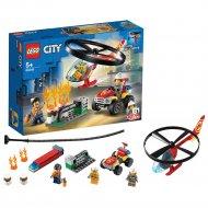 Конструктор «LEGO» City Fire, Пожарный спасательный вертолёт
