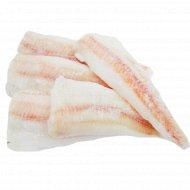 Филе минтая обесшкуренное, в глазури, фасованное, 1 кг., фасовка 0.85-1.2 кг