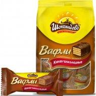 Вафли какао-шоколадные «Шоколадово» глазированные, 145 г.