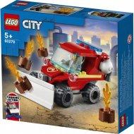Конструктор «LEGO» City Fire, Пожарный автомобиль