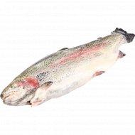 Рыба «Форель» радужная, потрошеная с головой, 1 кг., фасовка 1.4-1.5 кг