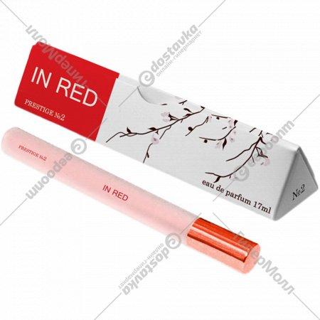 Парфюмерная вода женская «Prestige» № 2 In Red, 17 мл