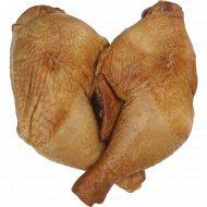 Окорочок цыпленка-бройлера «Аппетитный» копчено-вареный, 1 кг.