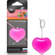 Ароматизатор подвесной «Сердце» бабл гам, AFSЕ002.