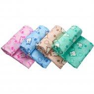 Одеяло «Fun Ecotex» Совы, 23200, мятный, 98х118 см