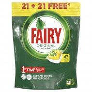 Средство для мытья посуды «Fairy» All-in- One-Lemon в капсулах, 618 г.