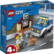 Конструктор «LEGO» City Police, Полицейский отряд с собакой
