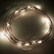 Гирлянда «Neon-Night» роса, 2 м, 303-006, теплый белый.