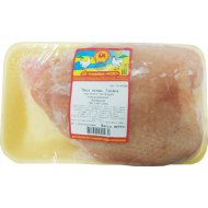 Грудка цыпленка-бройлера «Асобiна» замороженная 1 кг., фасовка 0.5-0.8 кг