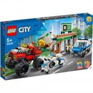 Конструктор «LEGO» City Police, Ограбление полицейского монстр-трака