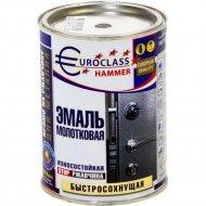 Эмаль «Euroclass» молотковый эффект, темно-серый, 0.8 кг
