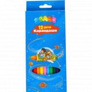 Карандаши «Космонавты» 12 цветов.