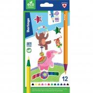 Карандаши цветные «Цирк» 12 цветов.