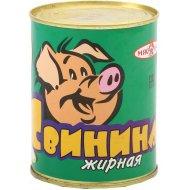 Консервы мясные «Свинина жирная» 340 г.