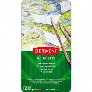 Набор акварельных карандашей «Derwent» 12 цветов, 2301941