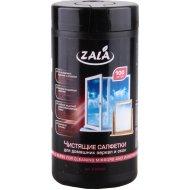 Чистящие салфетки «Zala» для домашних зеркал и окон 100 шт.