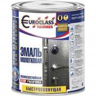 Эмаль «Euroclass» молотковый эффект, шоколадный, 0.4 кг