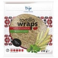 Тортилья пшеничная «Dijo» кориандр и тмин, 4х62.5 г.